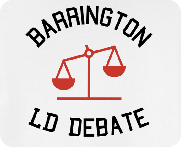 Picture of the logo of Debate club at Barrington High School in Barrington, Illinois