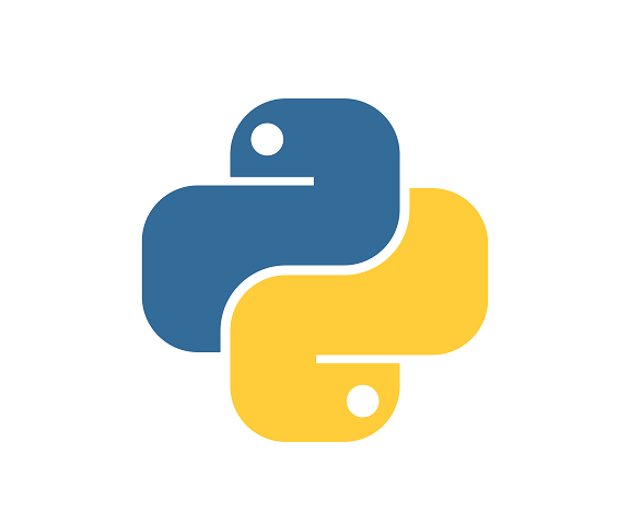 Picture of the logo of Python Programming Language